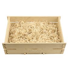 Ящик подарочный деревянный (светлый)